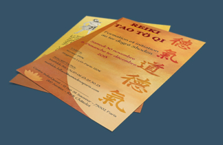 Flyer Reiki Tao To Ki