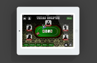 Poker App Graphic Design